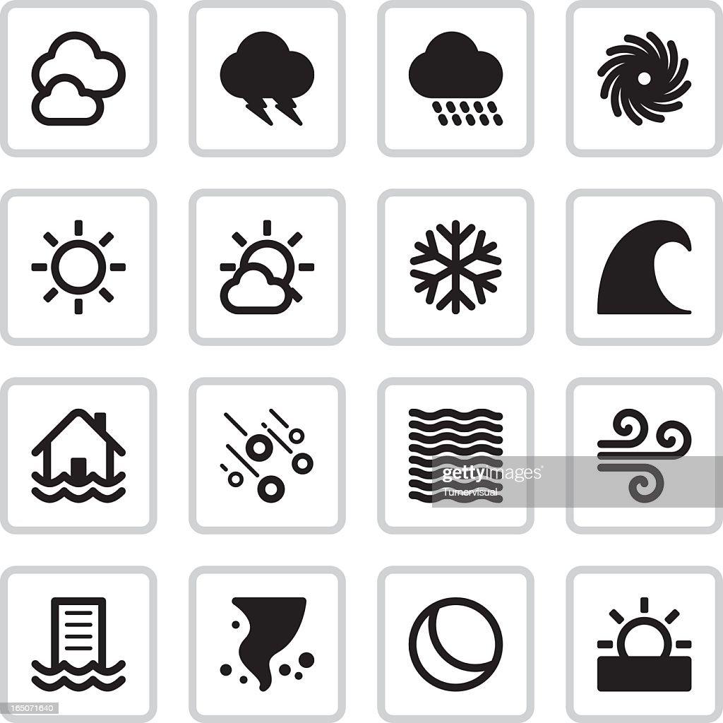 Weather Icons | Black