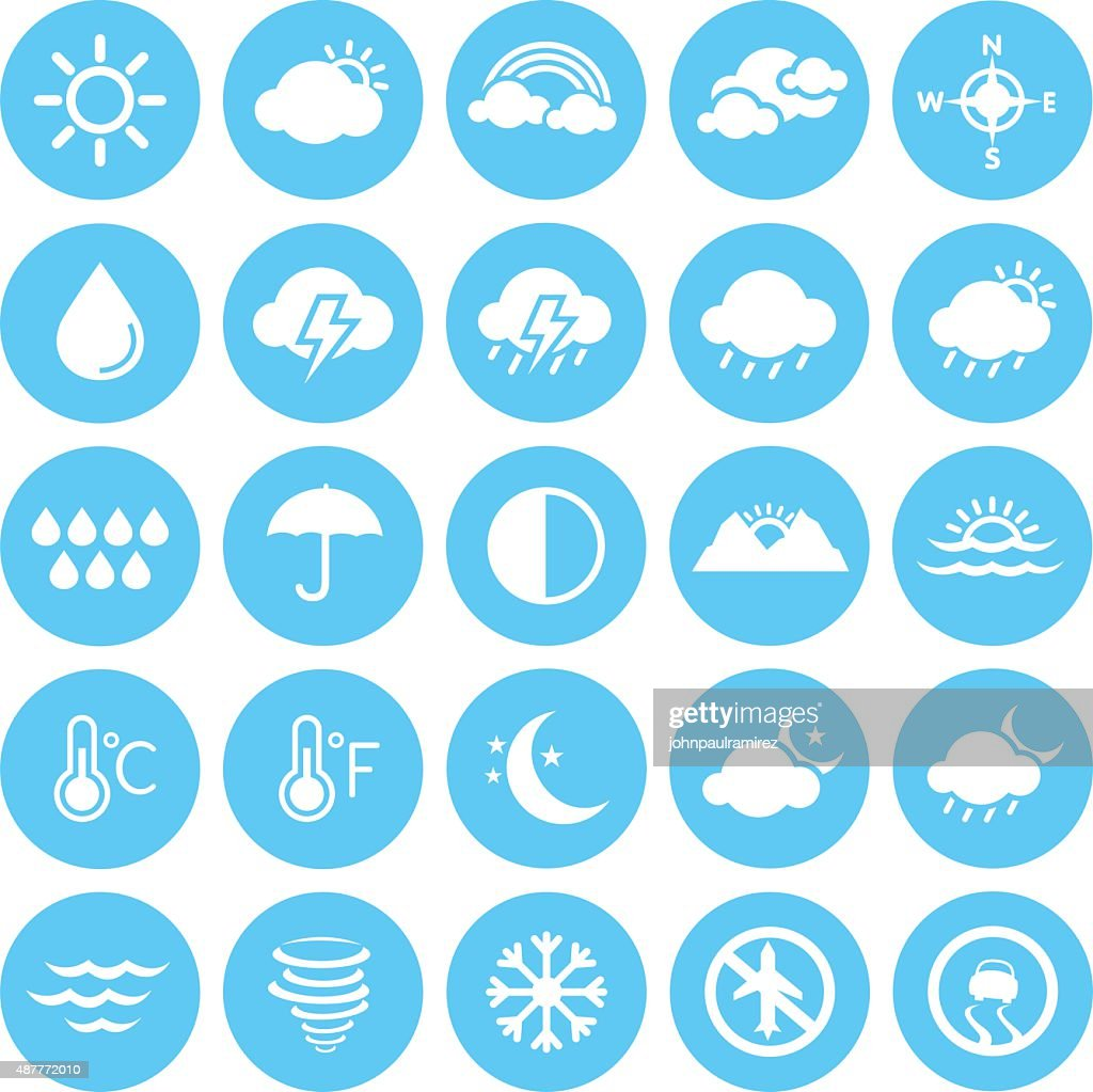 Weather Icons, Climate, Weather Forecast, Seasons