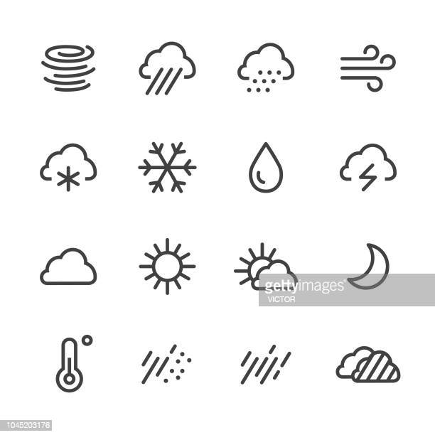 Weather Icons - Line Series