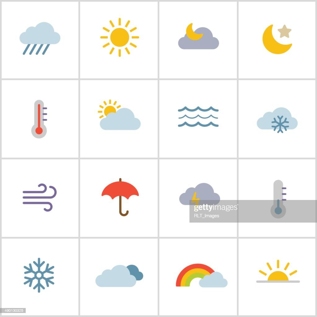 Weather Icons — Poly Series