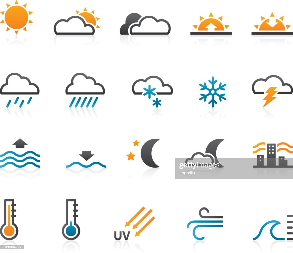 Weather icons - Set of 20