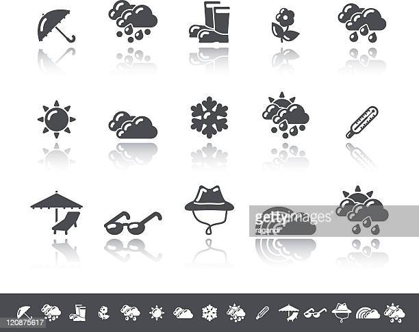 Weather Icons   Simple Grey