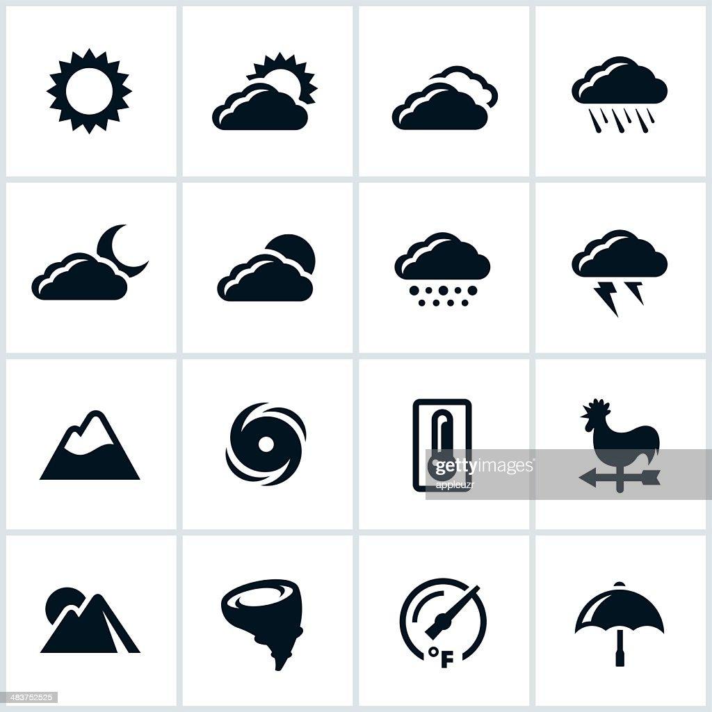 Weather Icons : stock illustration
