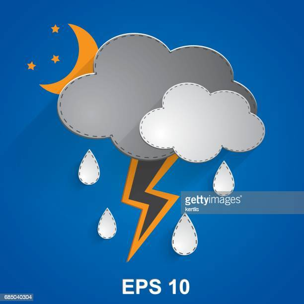weather illustrations series eps 25mpx jpeg