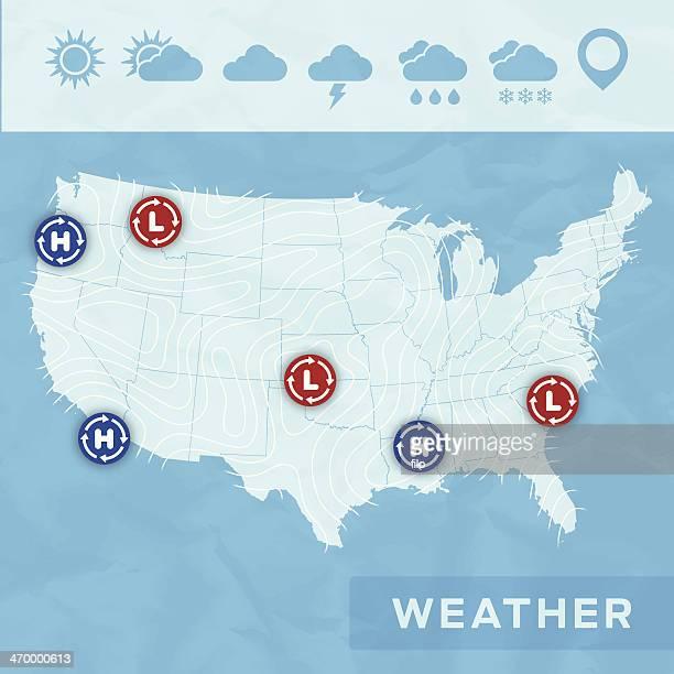weather - meteorology stock illustrations