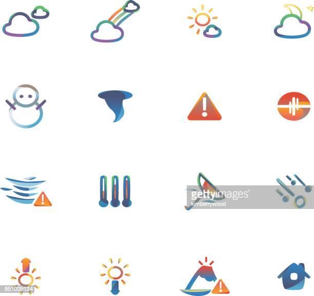 weather - volcano stock illustrations, clip art, cartoons, & icons