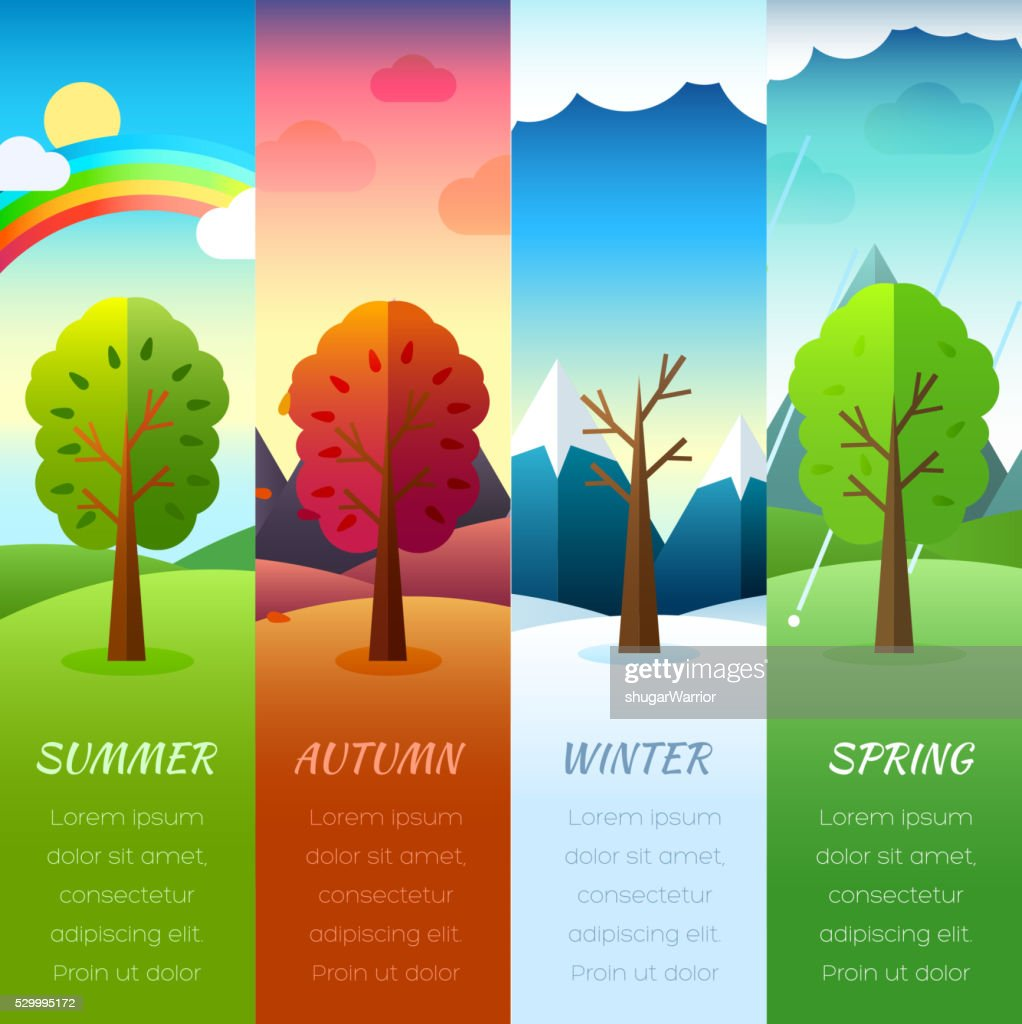 Weather year  information pages set