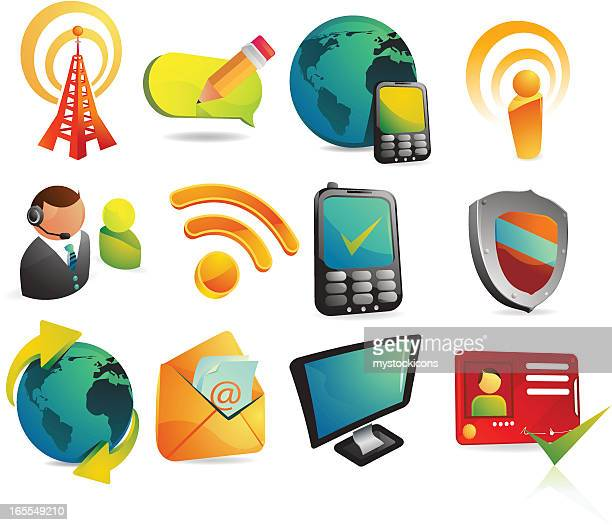web & internet icons - security pass stock illustrations, clip art, cartoons, & icons