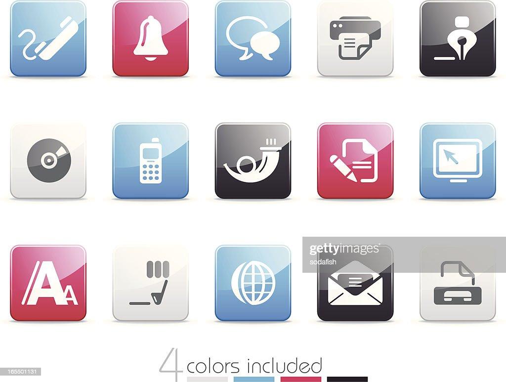 Web and Communication icons   Senso series