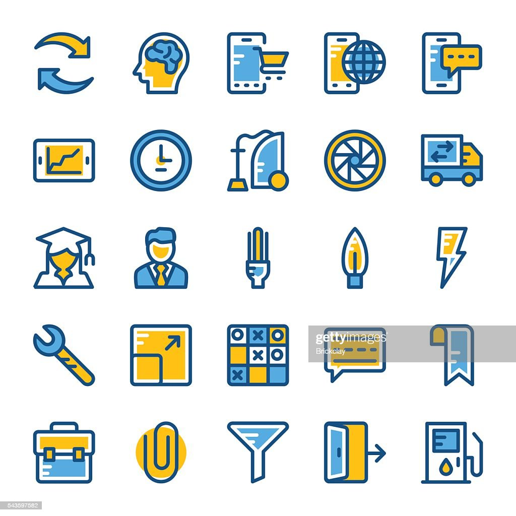 Web and User Interface Vector Icons 8