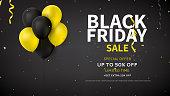 Web Banner Design for Black Friday Sale