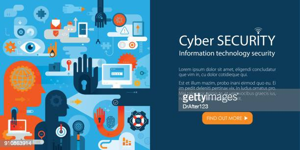 Web Banner Information Security Concept