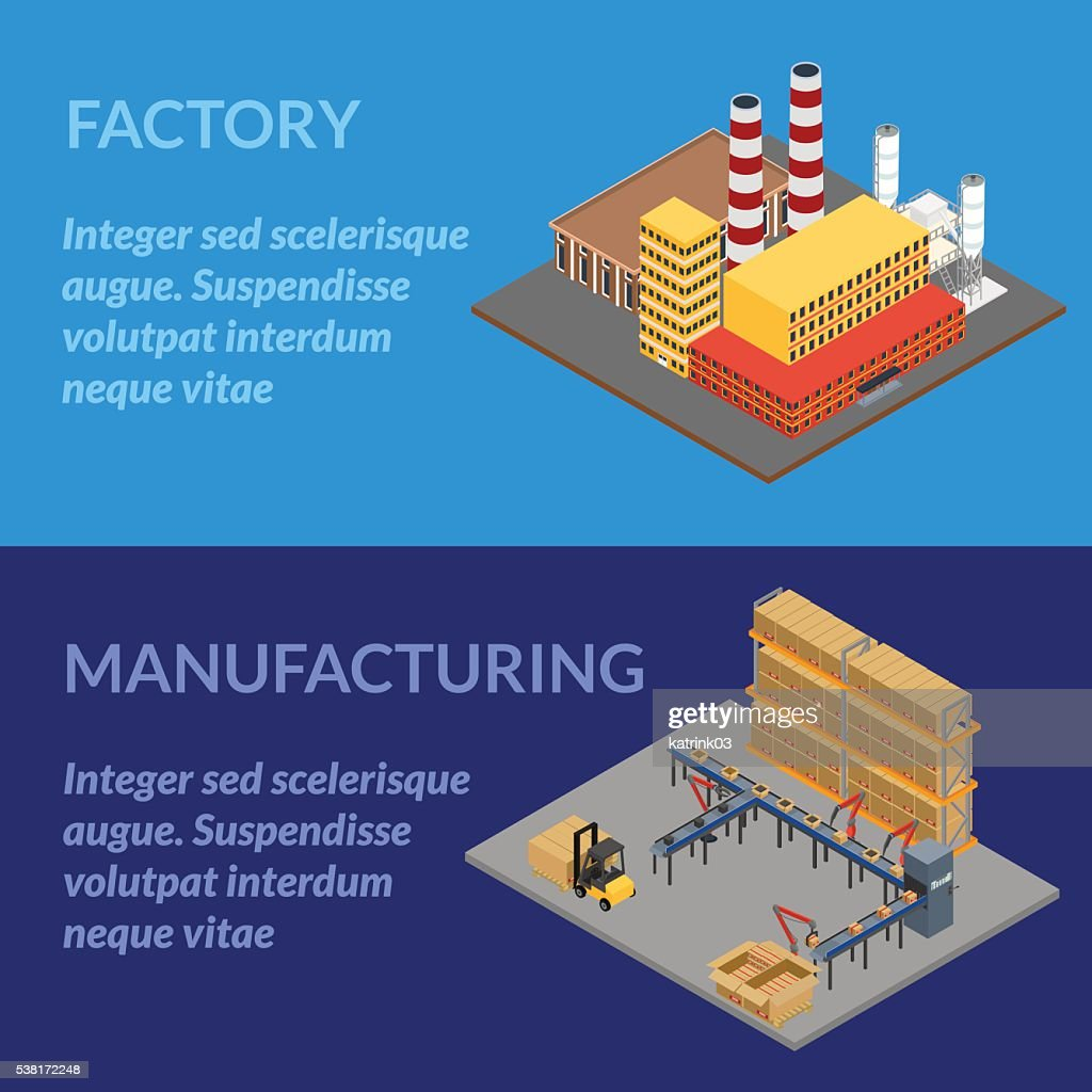 Web banner manufacturing
