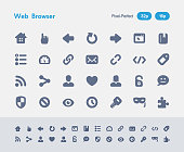 Web Browser - Ants Icons