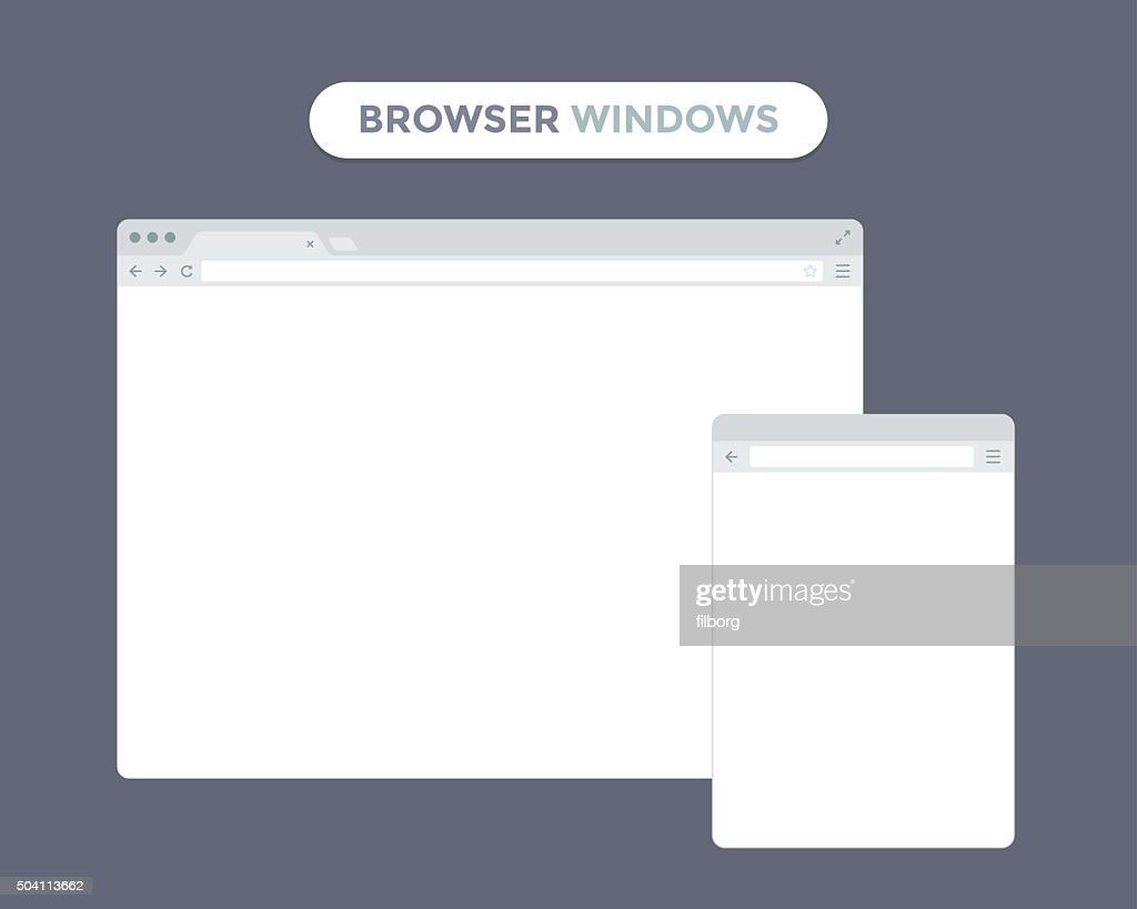 Web Browser Window