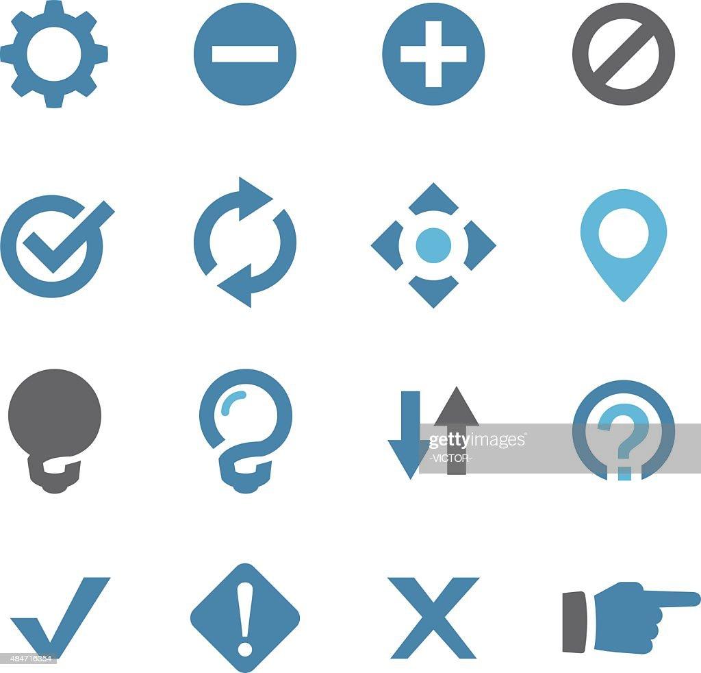 Web Button Icons - Conc Series