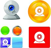Web Camera Vector Icons