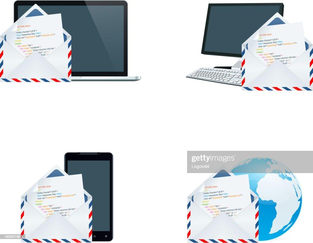 Web Code Icons