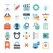 Web Design and Development Vector Icons 4