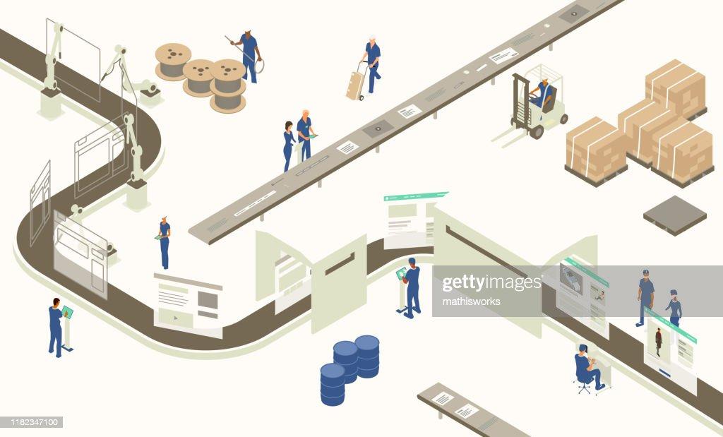 Web design development : stock illustration