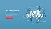 Web design hero banner