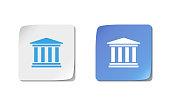 Web design of university icon