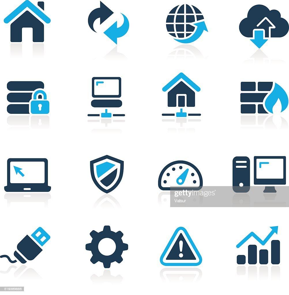 Web Developer Icons - Azure Series