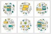 Web development - linear round concepts