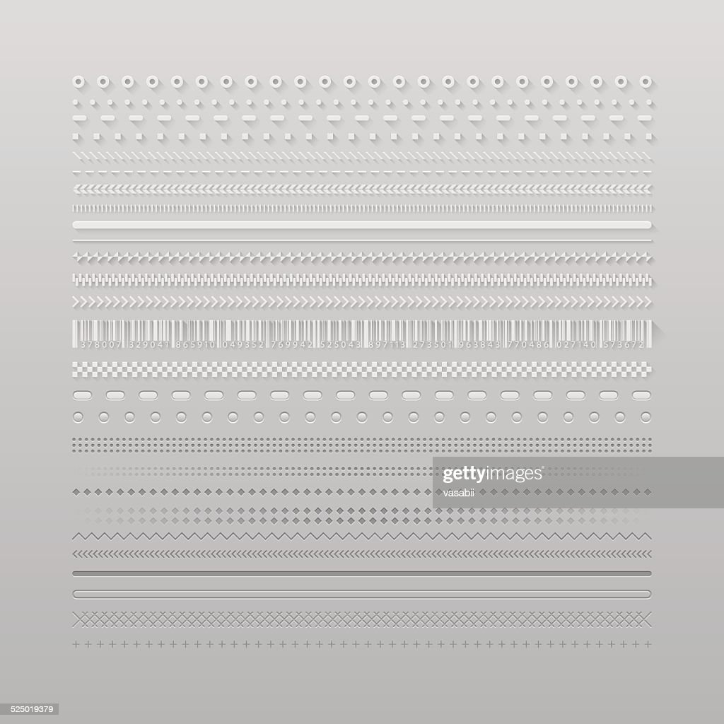 Web dividers