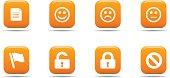 Web icon set 1 | Apricot series
