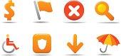Web icon set 4 | Pumpkin series