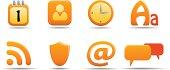 Web icon set 6 | Pumpkin series