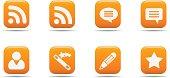 Web icon set 7 | Apricot series