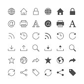 Web icons, included normal and enable state.