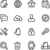 Web Icons Set - Line Series
