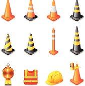 Web Icons - Traffic Warning Sign