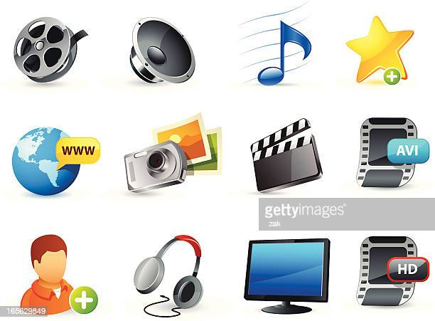 web icons (media)