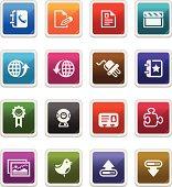 Web & Internet Icons 3 - sticker series