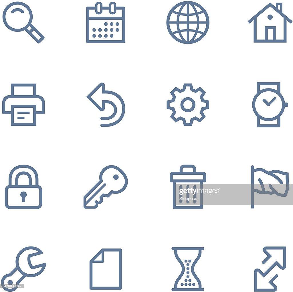 Web Line icons