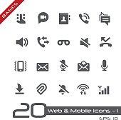 Web & Mobile Icons 1 - Basics