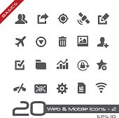 Web & Mobile Icons 2 - Basics