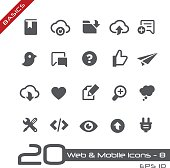 Web & Mobile Icons 8 - Basics