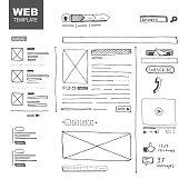 Web page sketch