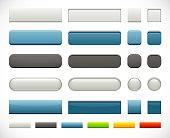 Web Push Buttons Set