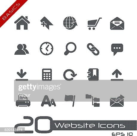Web Site Icons - Basics
