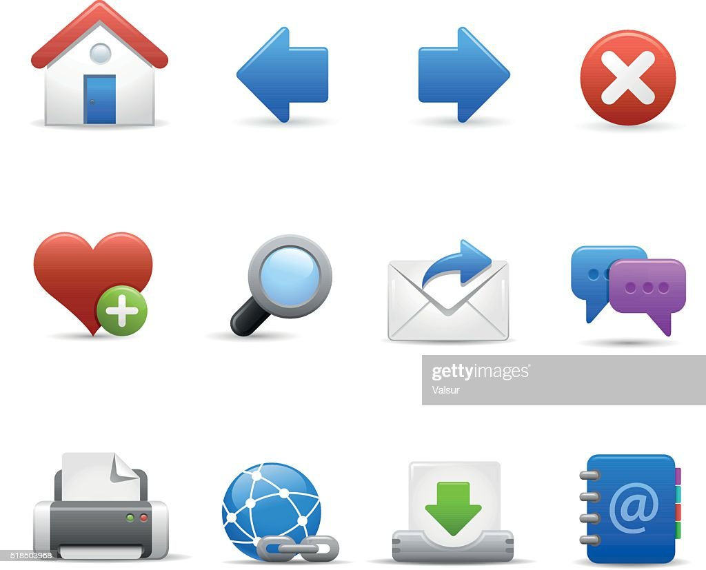 Web Site Icons - Soft Series