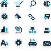Web Site & Internet Icons // Azure Series