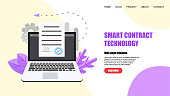 web template online electronic smart contract