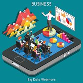 Webinars 02 Business Isometric