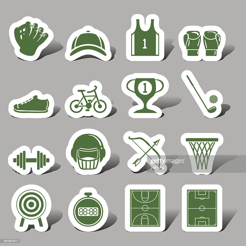 Website and Internet icons - Sports